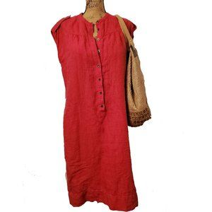 Linen Sheath Dress by Talbots - Size 12